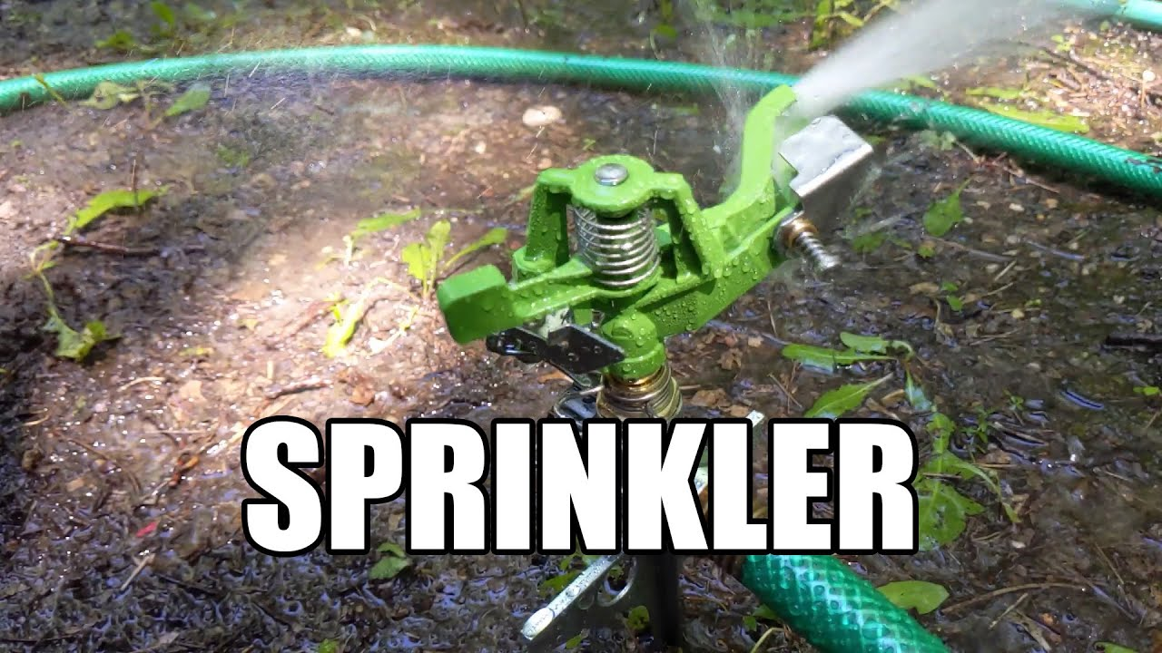 The Impact Sprinkler – more clever than it seems!