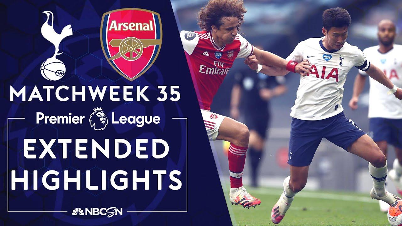 Tottenham v. Arsenal | PREMIER LEAGUE HIGHLIGHTS | 7/12/2020 | NBC Sports