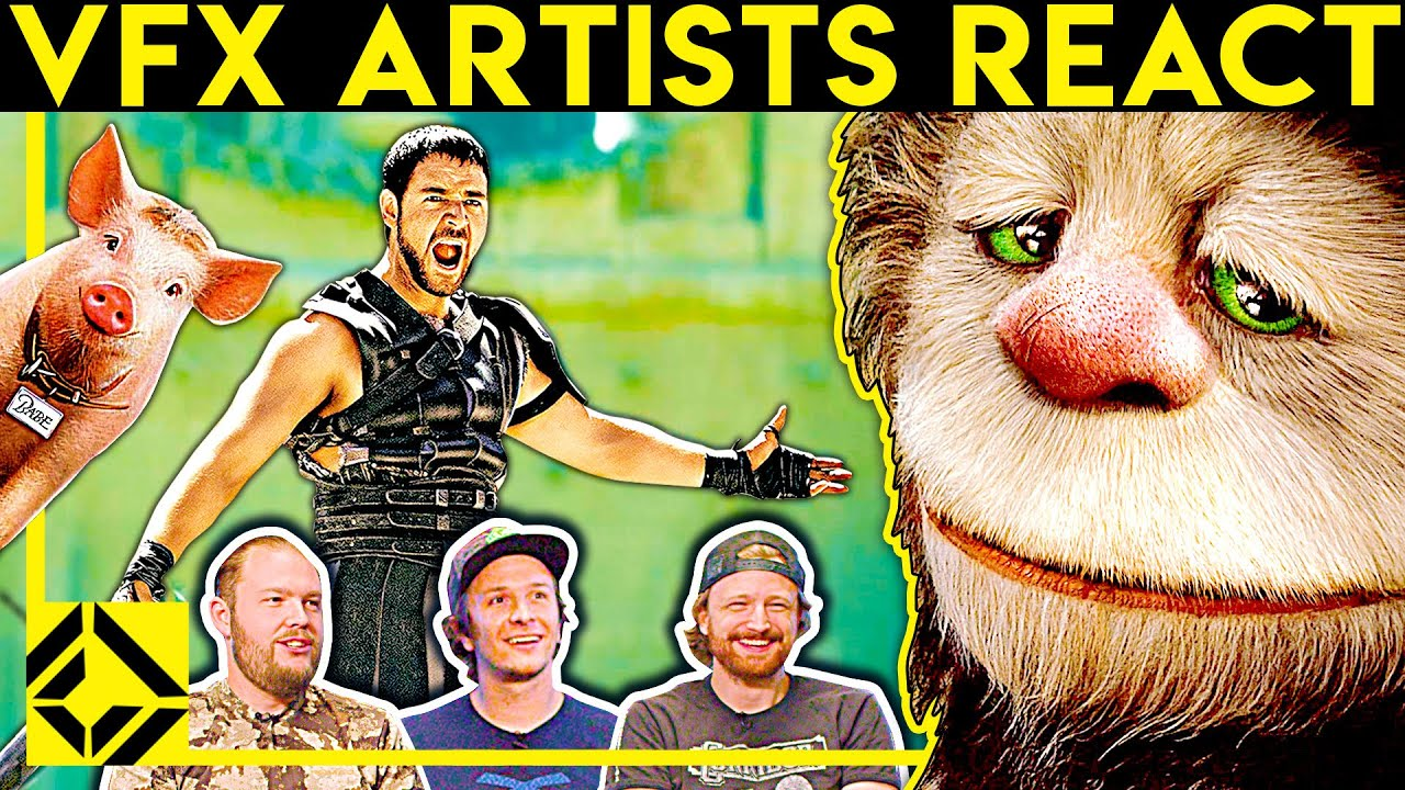VFX Artists React to Bad & Great CGi 31