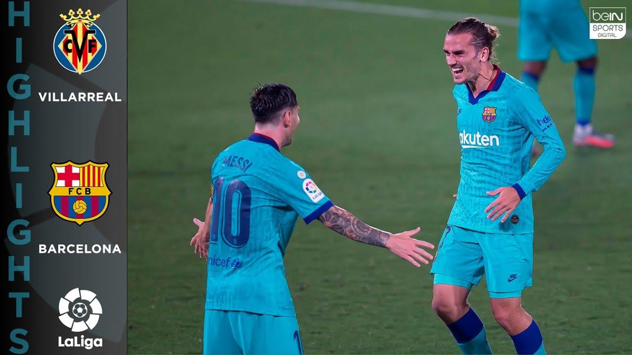 Villarreal 1-4 Barcelona – HIGHLIGHTS & GOALS –  7/05/2020
