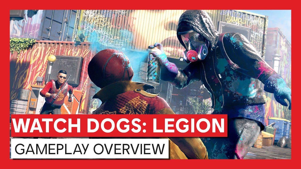 Watch Dogs: Legion – Gameplay Overview Trailer