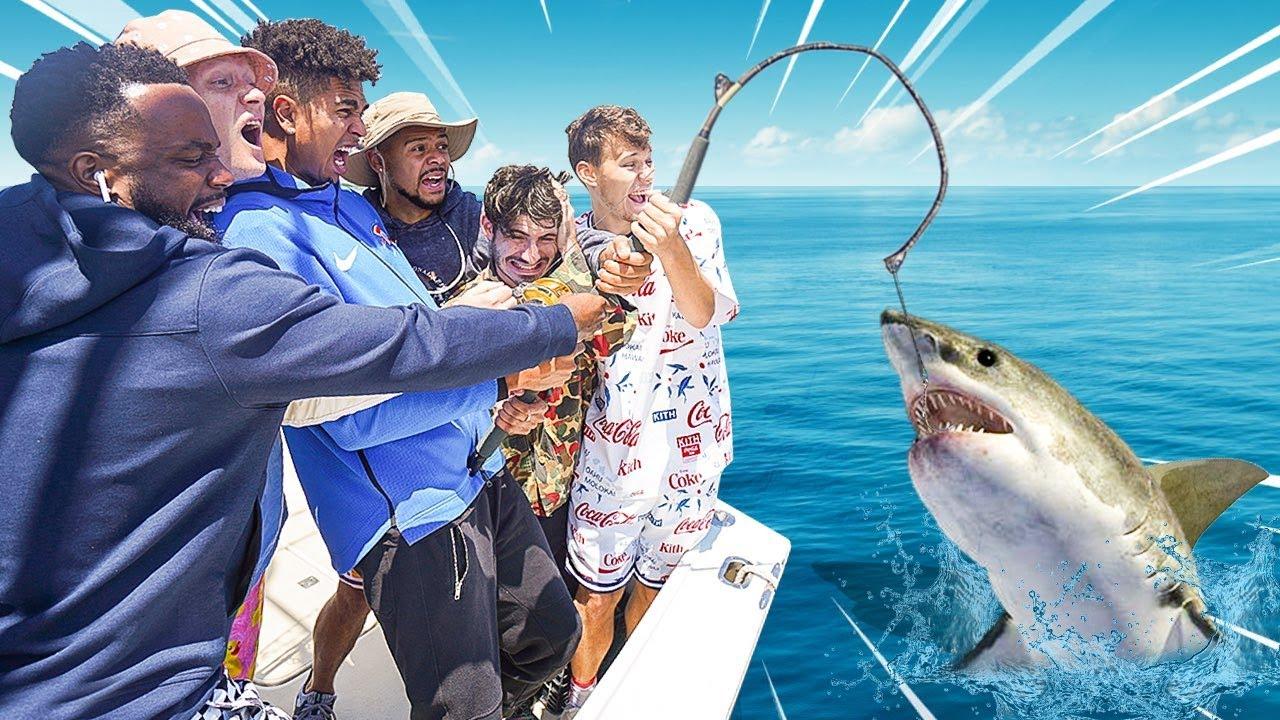 2HYPE Goes Shark Fishing!