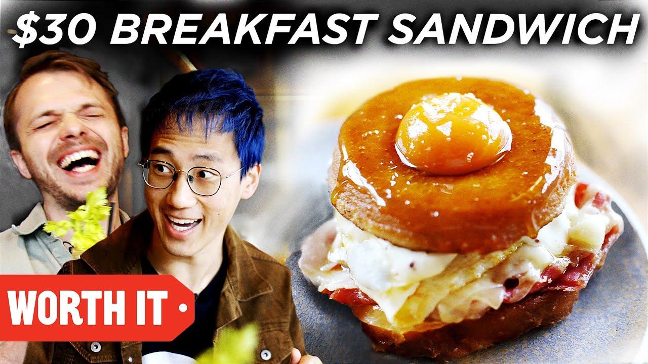$4 Breakfast Sandwich Vs. $30 Breakfast Sandwich