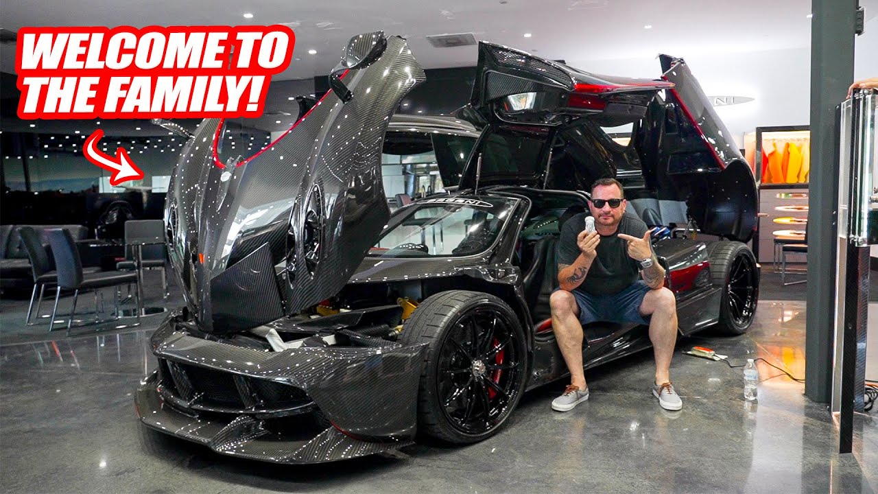 ADDING A PAGANI HUAYRA TO THE SUPERCAR COLLECTION! *The Koenigsegg CCX Gets A Friend*