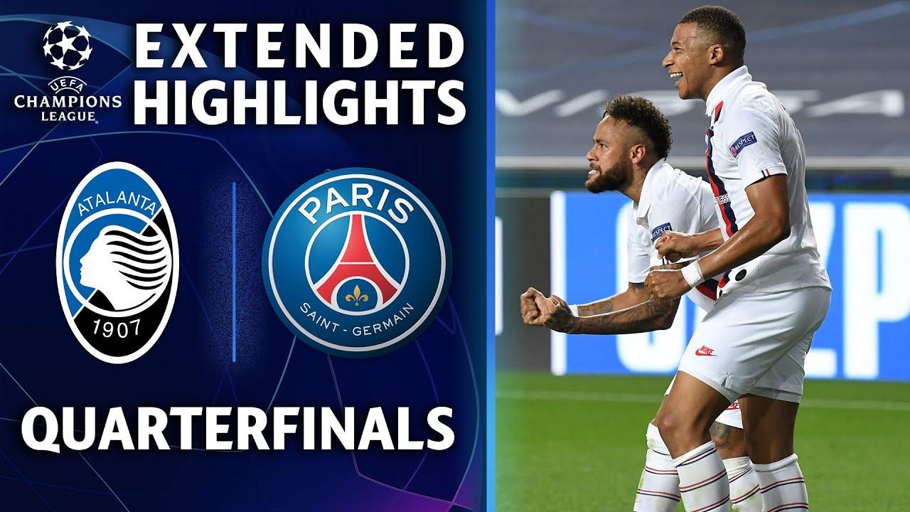Atalanta vs. PSG   Champions League Quarterfinal Highlights   UCL on CBS Sports