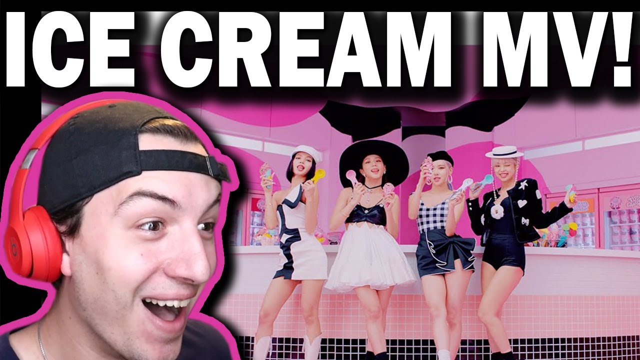 BLACKPINK – 'Ice Cream (with Selena Gomez)' M/V REACTION!