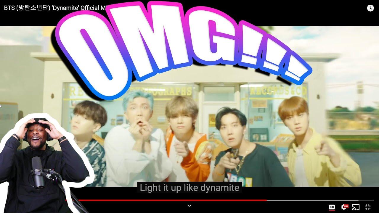 BTS (방탄소년단) 'Dynamite' Official MV (Reaction)