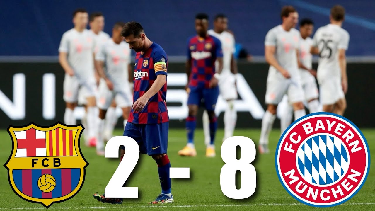 Barcelona vs Bayern Munich [2-8], Champions League, Quarter-Final – MATCH REVIEW