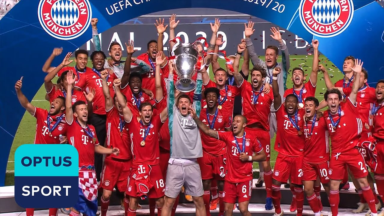 Bayern lift SIXTH Champions League ?Coman scores the winner against PSG in Lisbon to seal 1-0 win