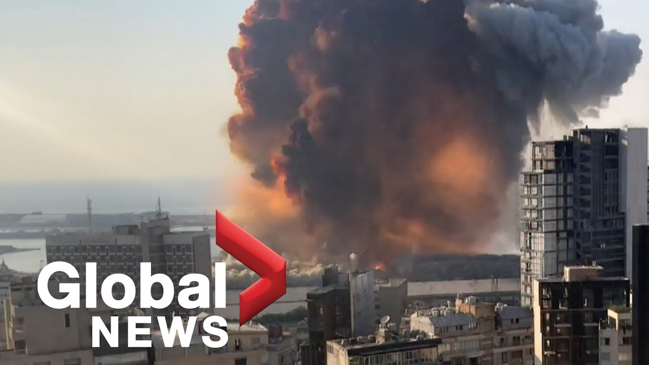 Beirut explosion: Video shows new angle of the massive blast