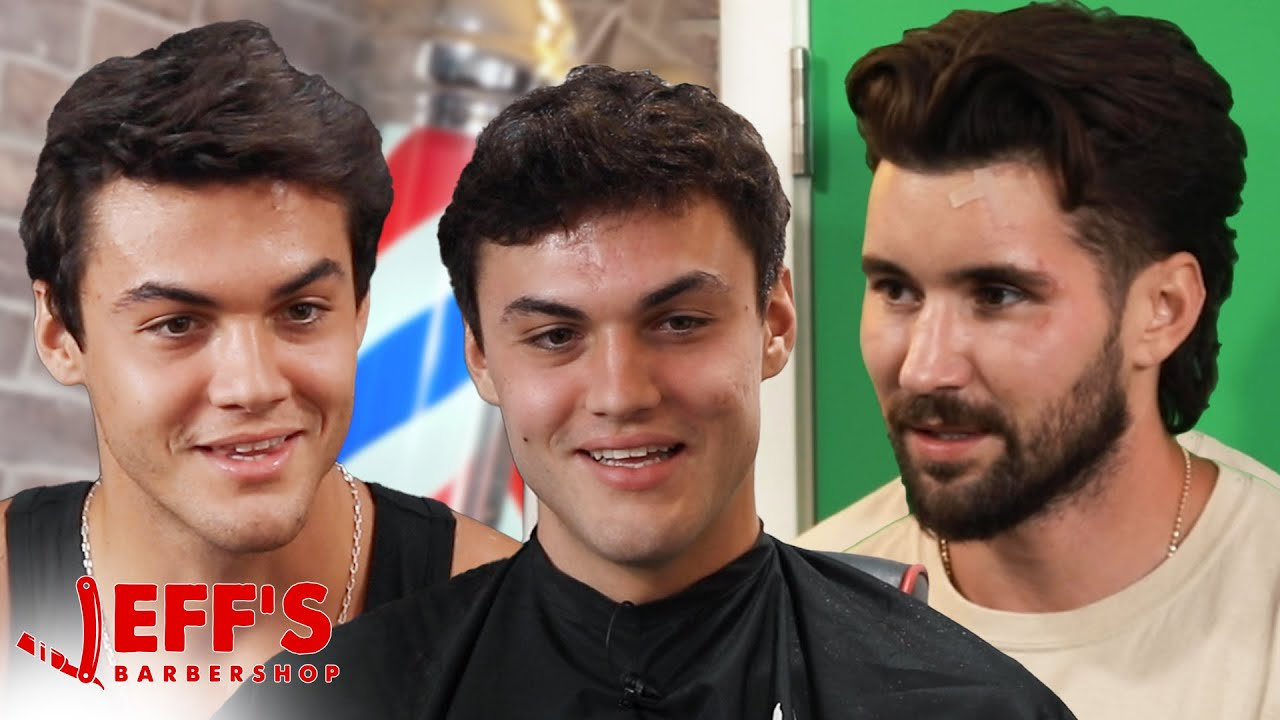 CAUGHT THE DOLAN TWINS DOING THIS ON CAMERA  | Jeff's Barbershop