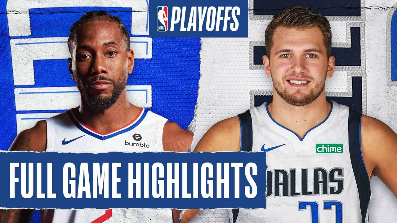 CLIPPERS at MAVERICKS | FULL GAME HIGHLIGHTS | August 30, 2020