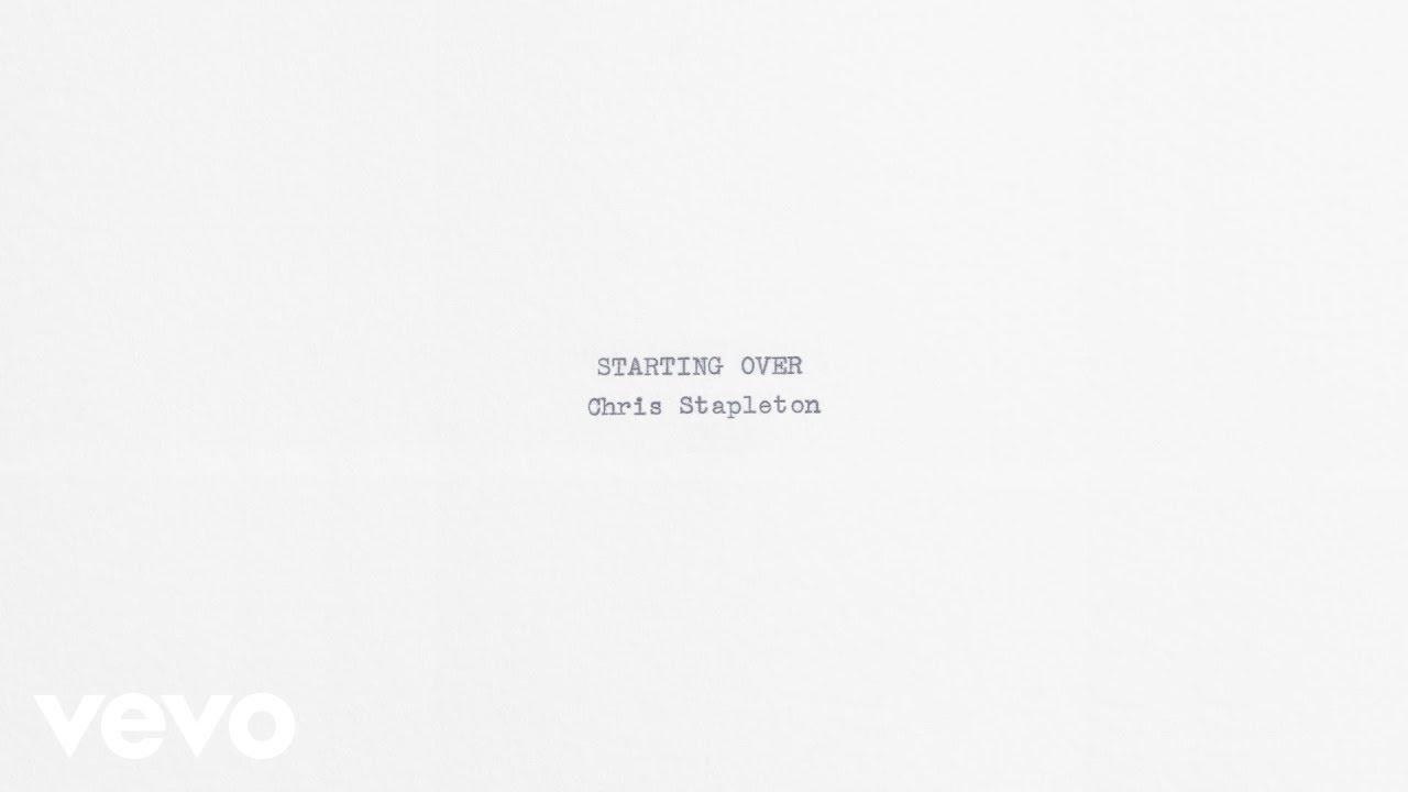 Chris Stapleton – Starting Over (Audio)