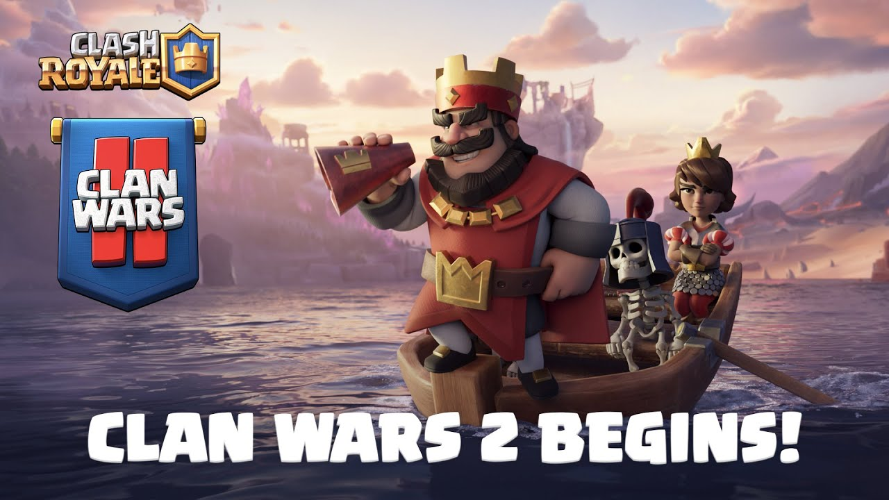 Clash Royale: ⚔️ CLAN WARS 2 IS HERE! ⚔️ (Official Launch Trailer)