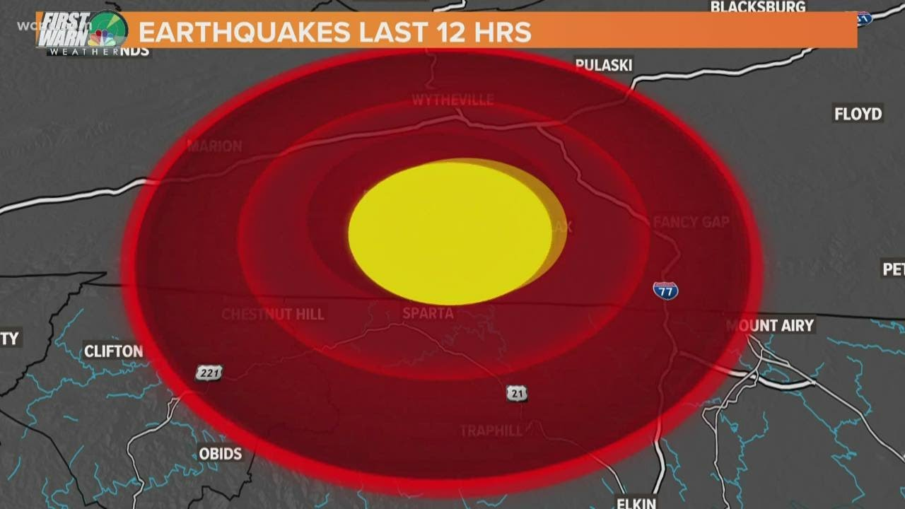 DID YOU FEEL IT? 5.1 magnitude earthquake in North Carolina