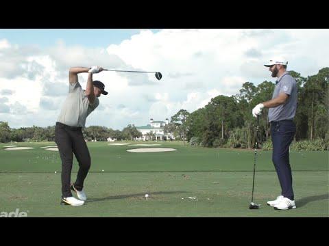 Dustin Johnson & Jason Day Try to Swing Like Matt Wolff! | TaylorMade Golf