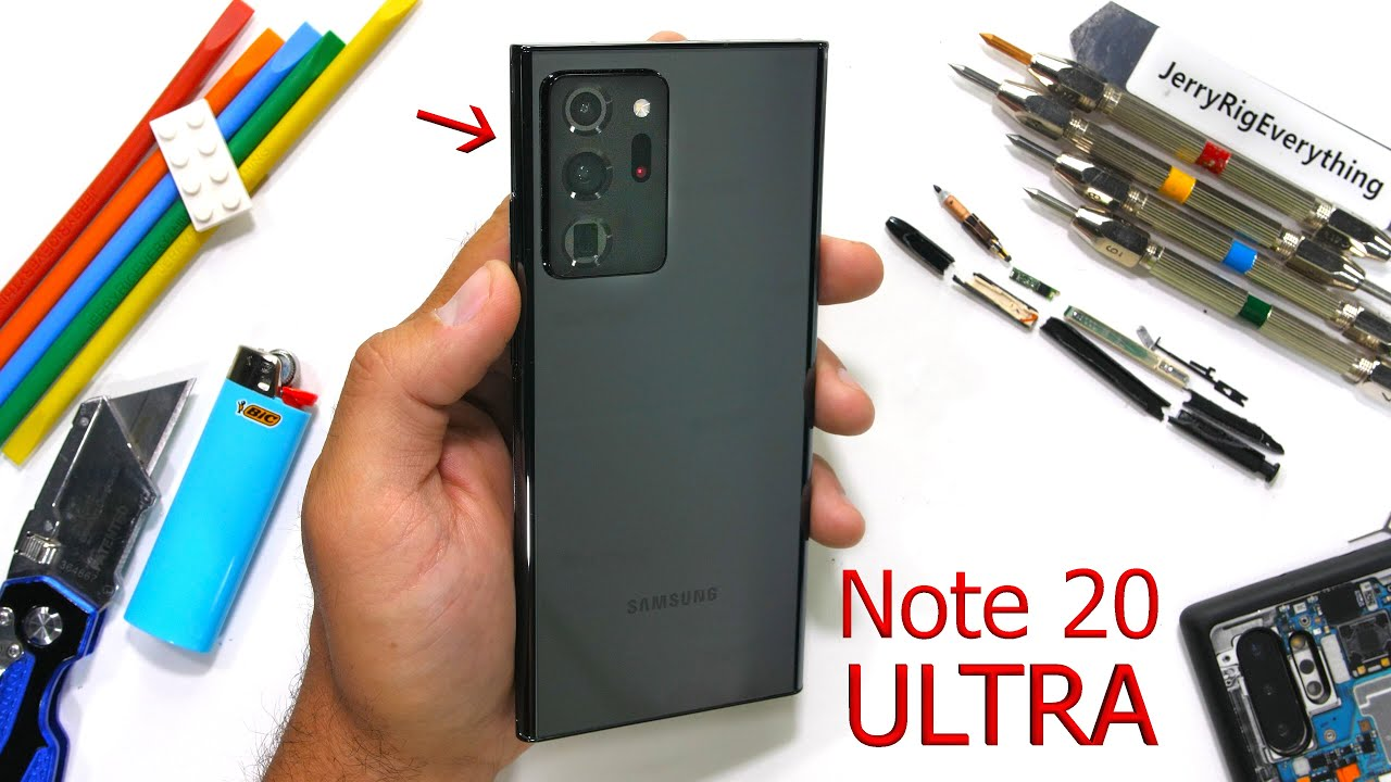 Galaxy Note 20 Ultra Durability Test – What is 'Victus' Glass?