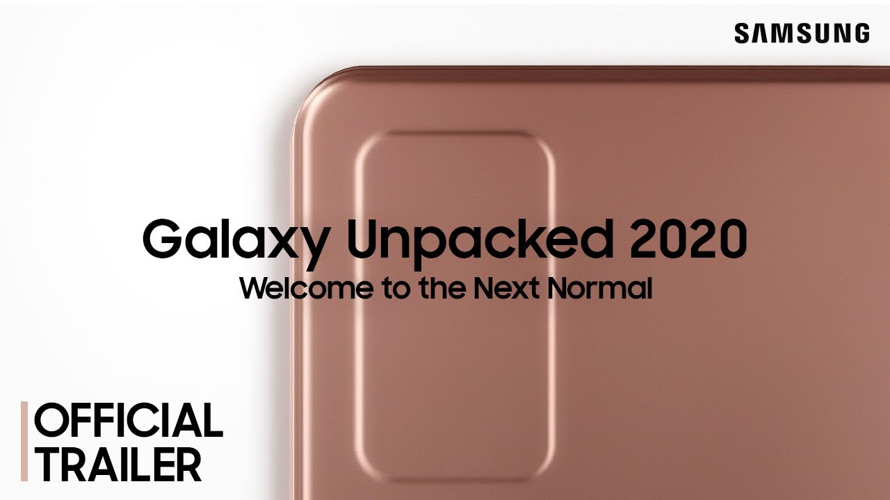 Galaxy Unpacked August 2020: Official Trailer #2 | Samsung