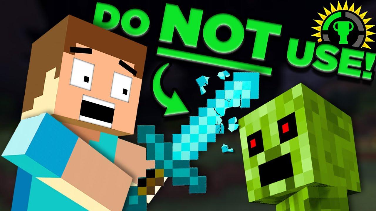 Game Theory: Minecraft, Stop Using Diamonds!