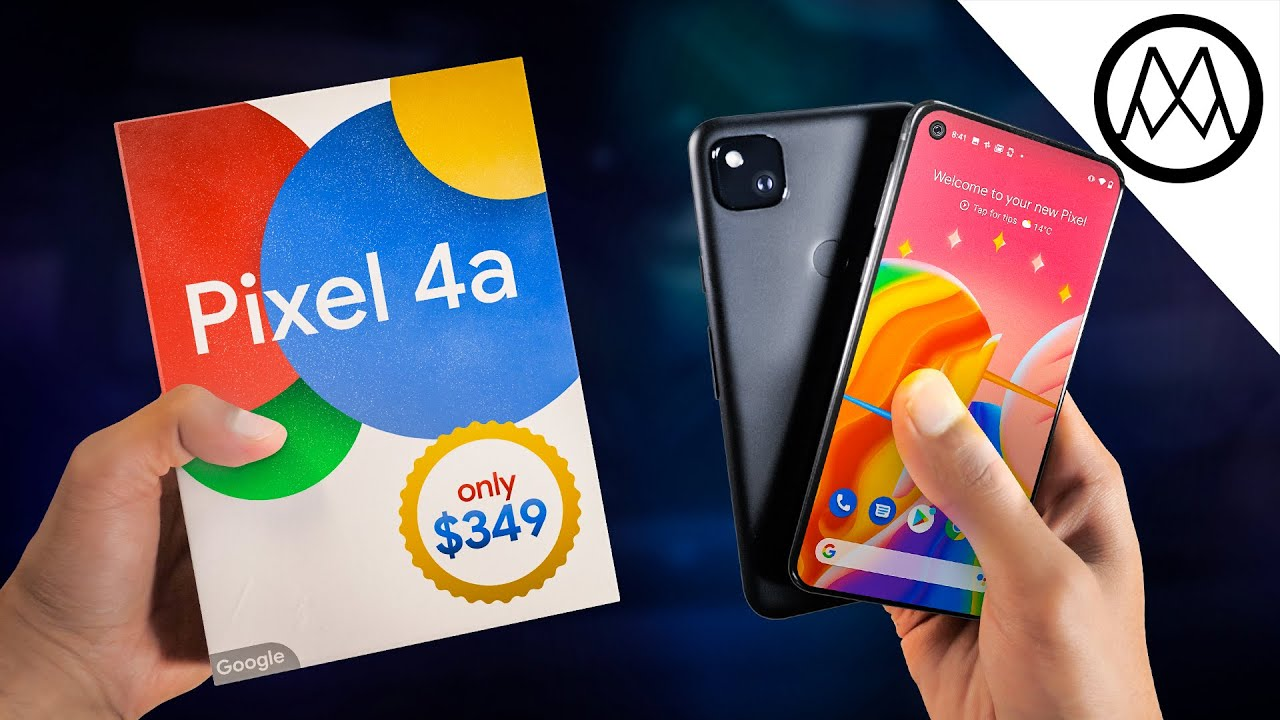Google Pixel 4a Unboxing – Ridiculous.