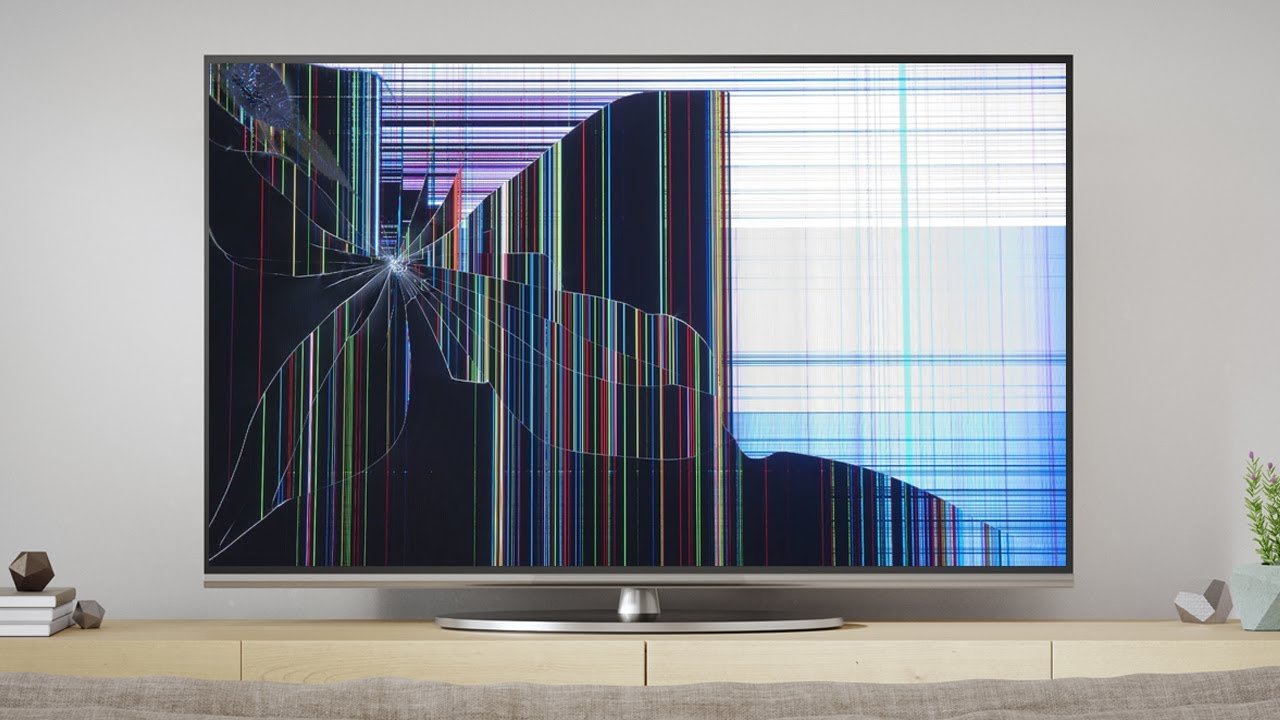 How To Fix a Broken TV Screen