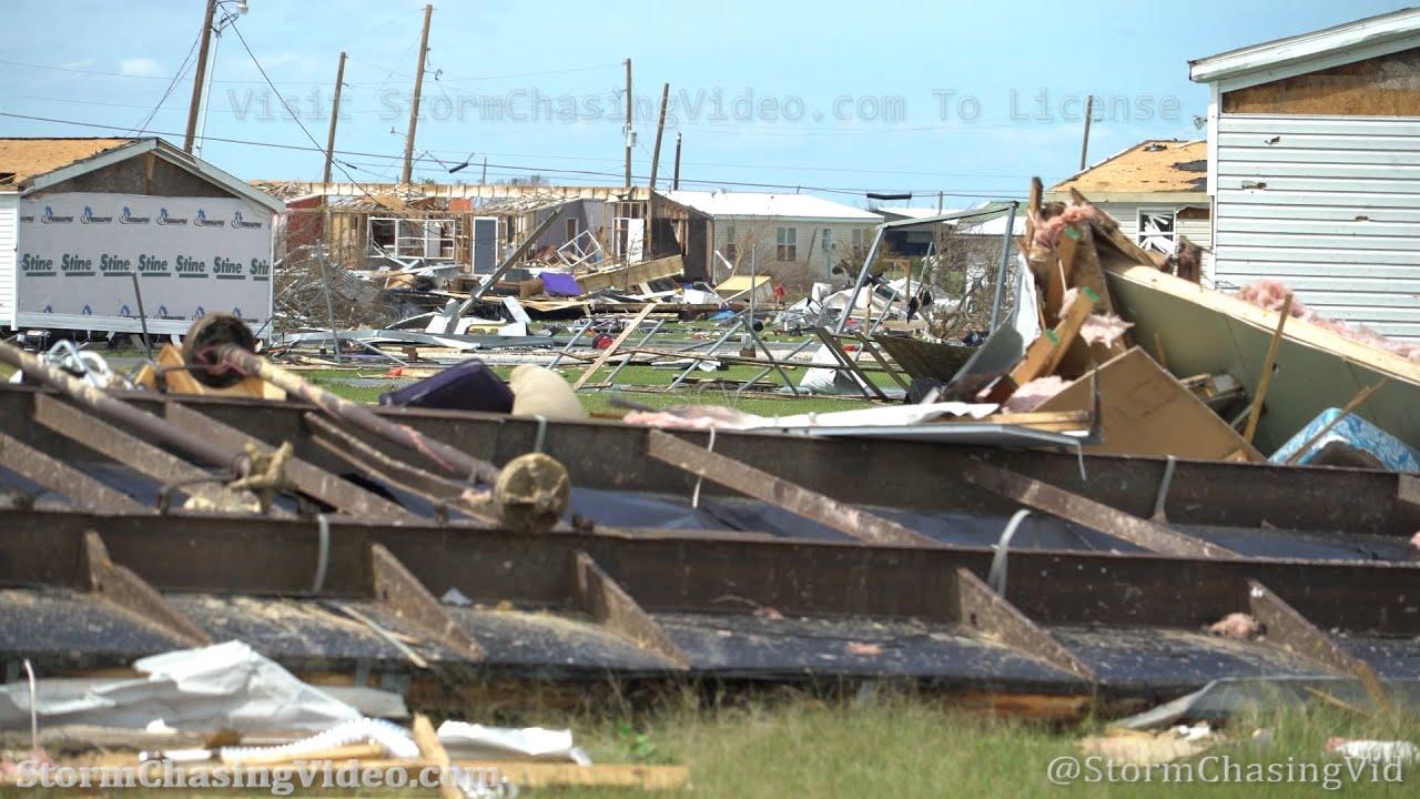 Hurricane Laura, Extensive Catastrophic Damage, Grand Lake, LA – 8/27/2020