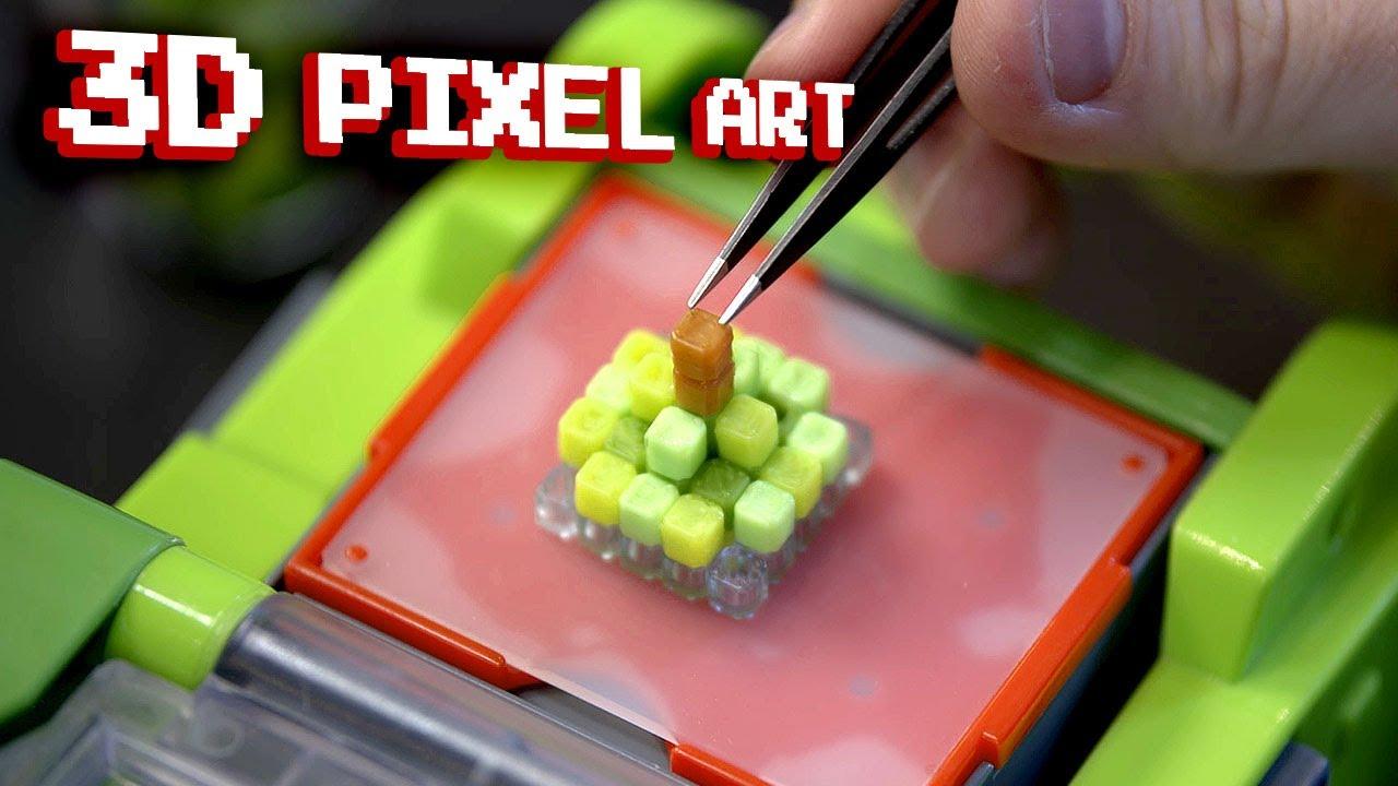 I Got a 3D PIXEL ART Maker – Awful or Amazing?…