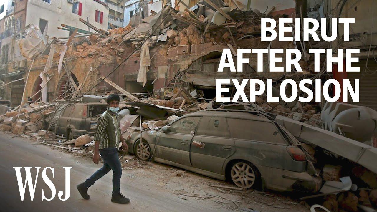 Inside Beirut After the Explosion | WSJ