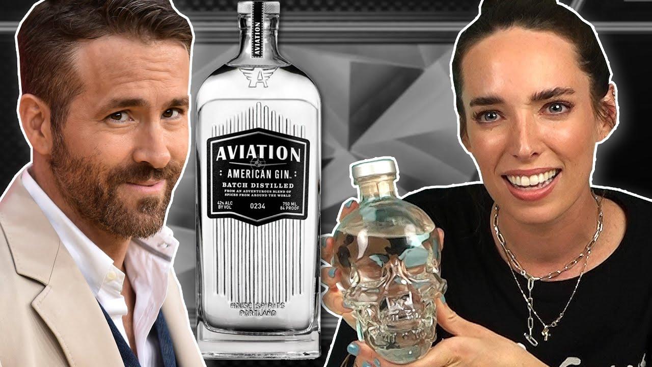 Irish People Try Celebrity Alcohol (Ryan Reynolds, Aviation Gin)