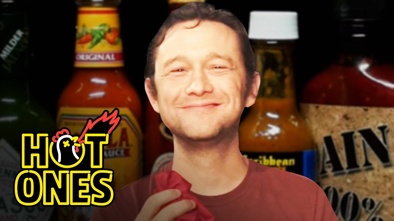 Joseph Gordon-Levitt Gets Cocky While Eating Spicy Wings | Hot Ones