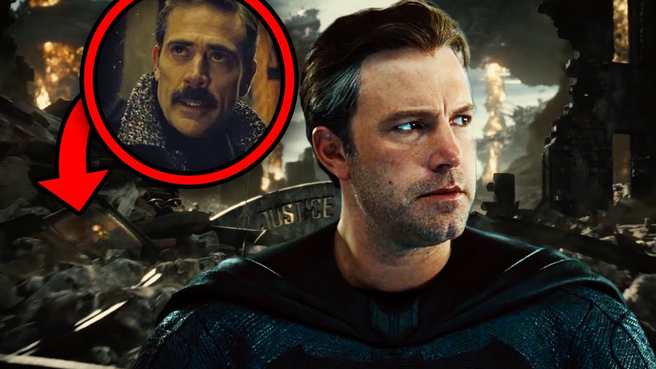 "Justice League Snyder Cut Trailer Breakdown! Easter Eggs & ""Hallelujah"" Deeper Meaning!"