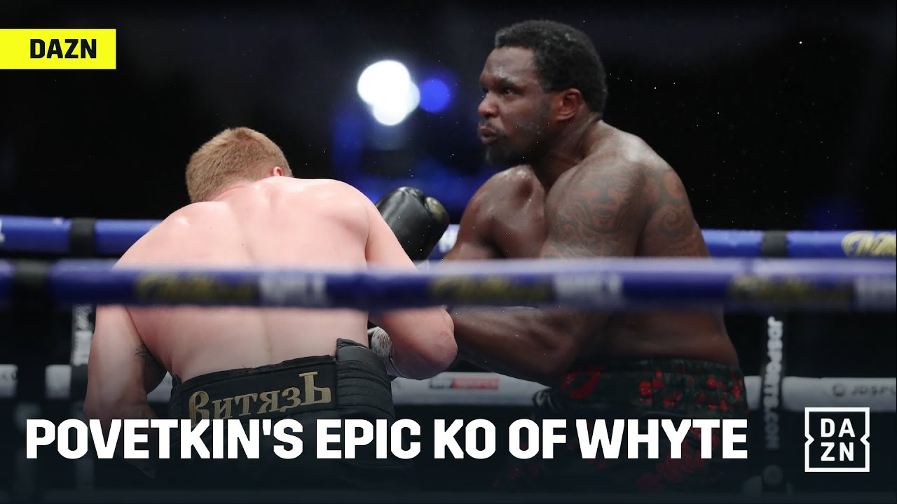 KO OF THE YEAR! Alexander Povetkin KOs Dillian Whyte In Stunning Fashion