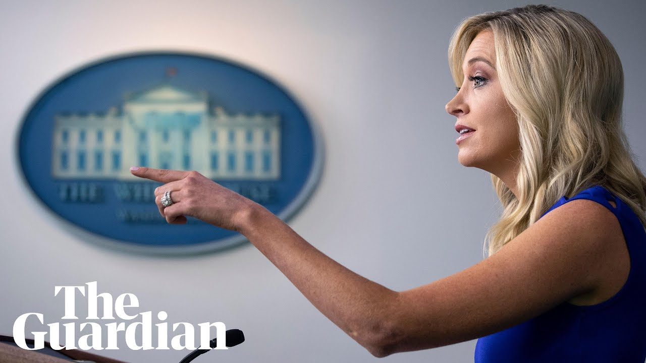 Kayleigh McEnany holds sudden White House press briefing – watch live