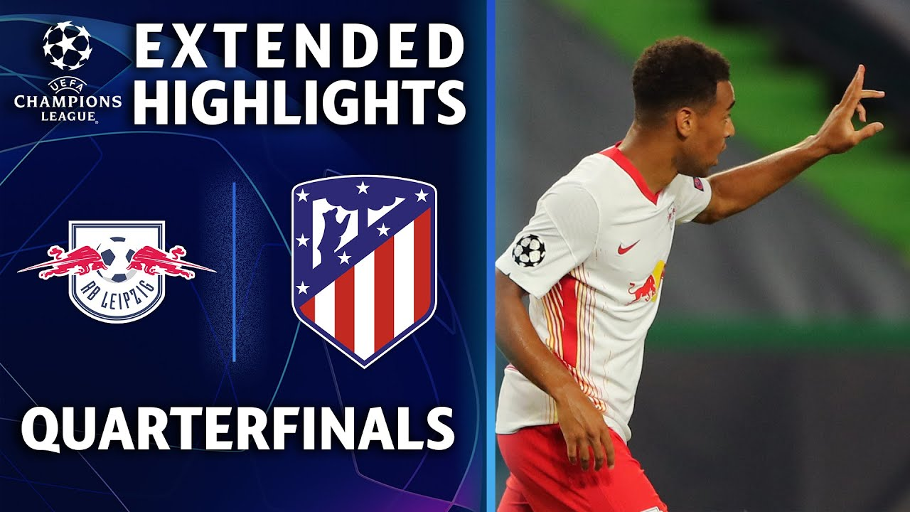 Leipzig vs. Atlético Madrid | Champions League Quarterfinal Highlights | UCL on CBS Sports