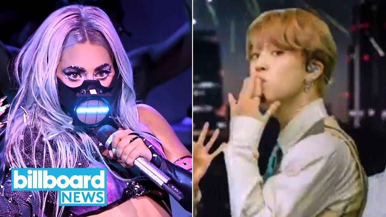 MTV VMAs 2020: Lady Gaga and BTS Win Big, Show Dedicated to Chadwick Boseman   Billboard News