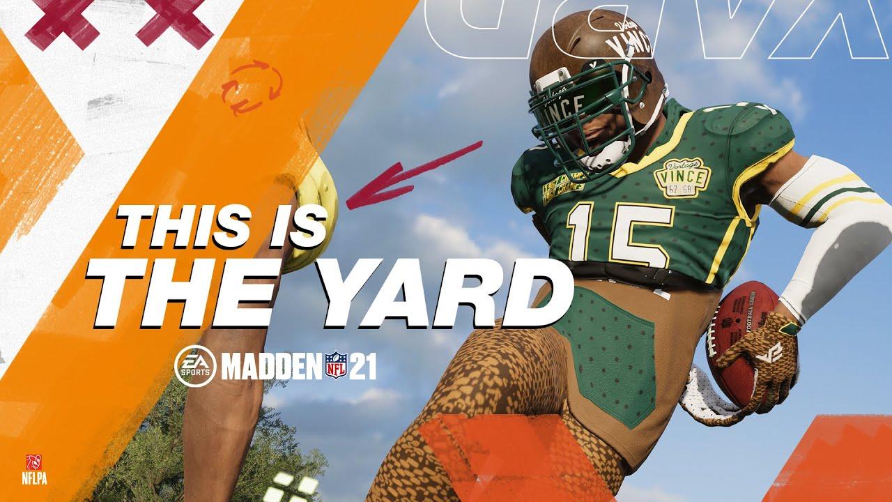 Madden 21   The Yard Trailer
