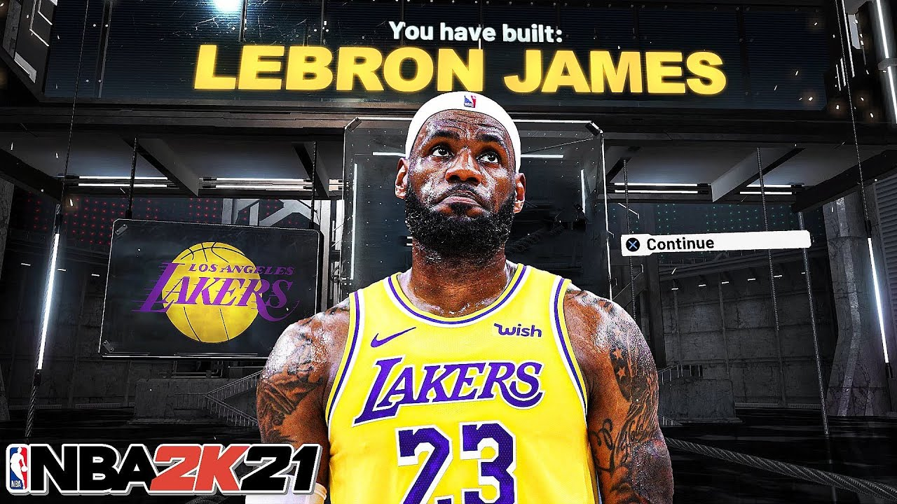NBA 2K21 LEBRON JAMES BUILD – 61 BADGE UPGRADES – DEMIGOD SMALL FORWARD BUILD