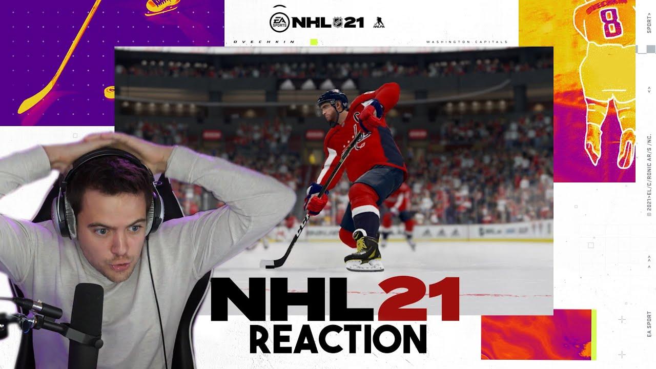 NHL 21 GAMEPLAY TRAILER *BREAKDOWN*