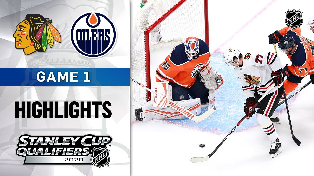 NHL Highlights | Blackhawks @ Oilers, GM1 – Aug. 1, 2020