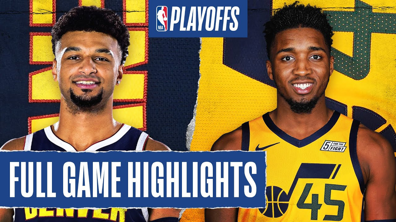 NUGGETS at JAZZ | FULL GAME HIGHLIGHTS | August 30, 2020