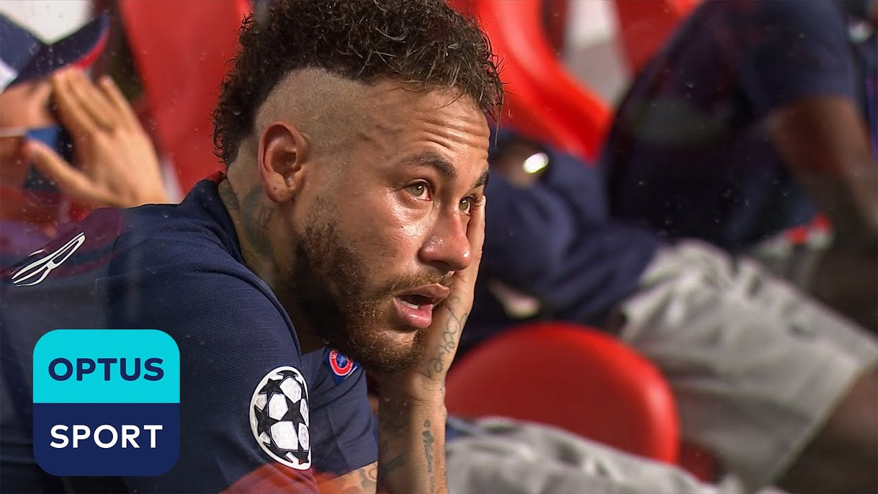 Neymar in tears at full-time as PSG defeated in Champions League Final