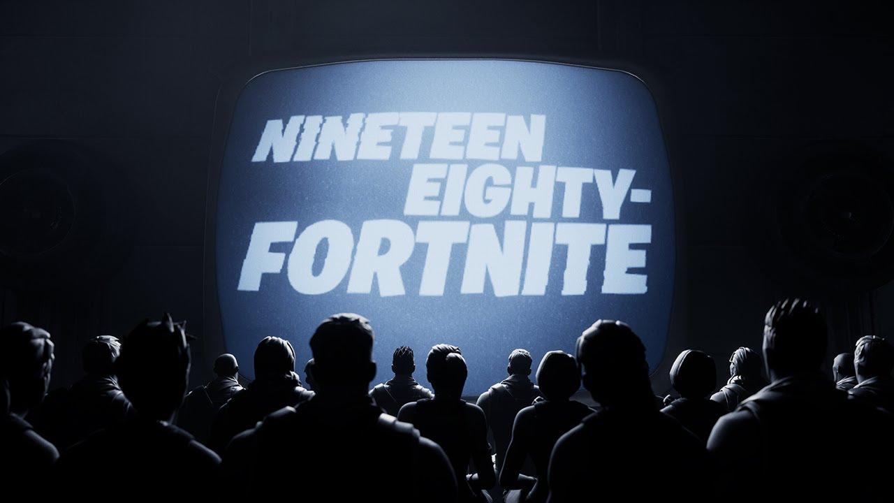 Nineteen Eighty-Fortnite – #FreeFortnite