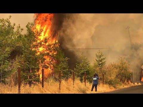Northern California wildfire evening update   August 19, 2020