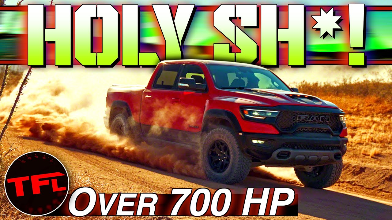 OMG! 2021 Ram 1500 TRX: HP, 0-60 MPH, Top Speed AND MORE Than Everything You Ever Wanted To Know!