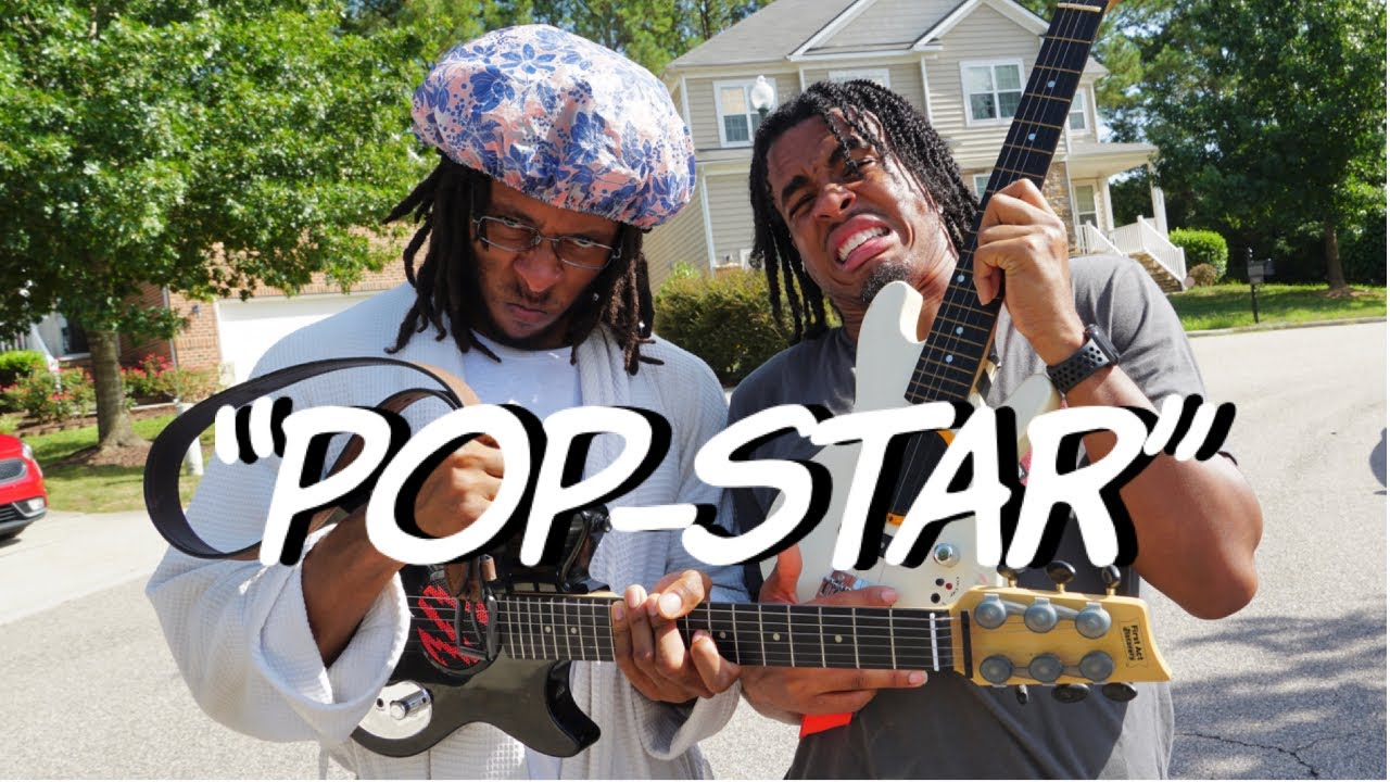 """POP-STAR"" – ROCKSTAR Parody"