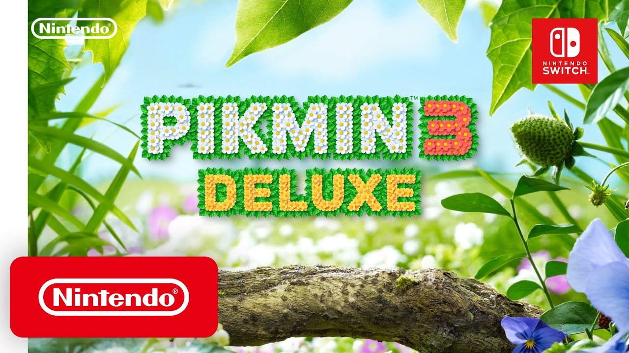 Pikmin 3 Deluxe – Announcement Trailer – Nintendo Switch