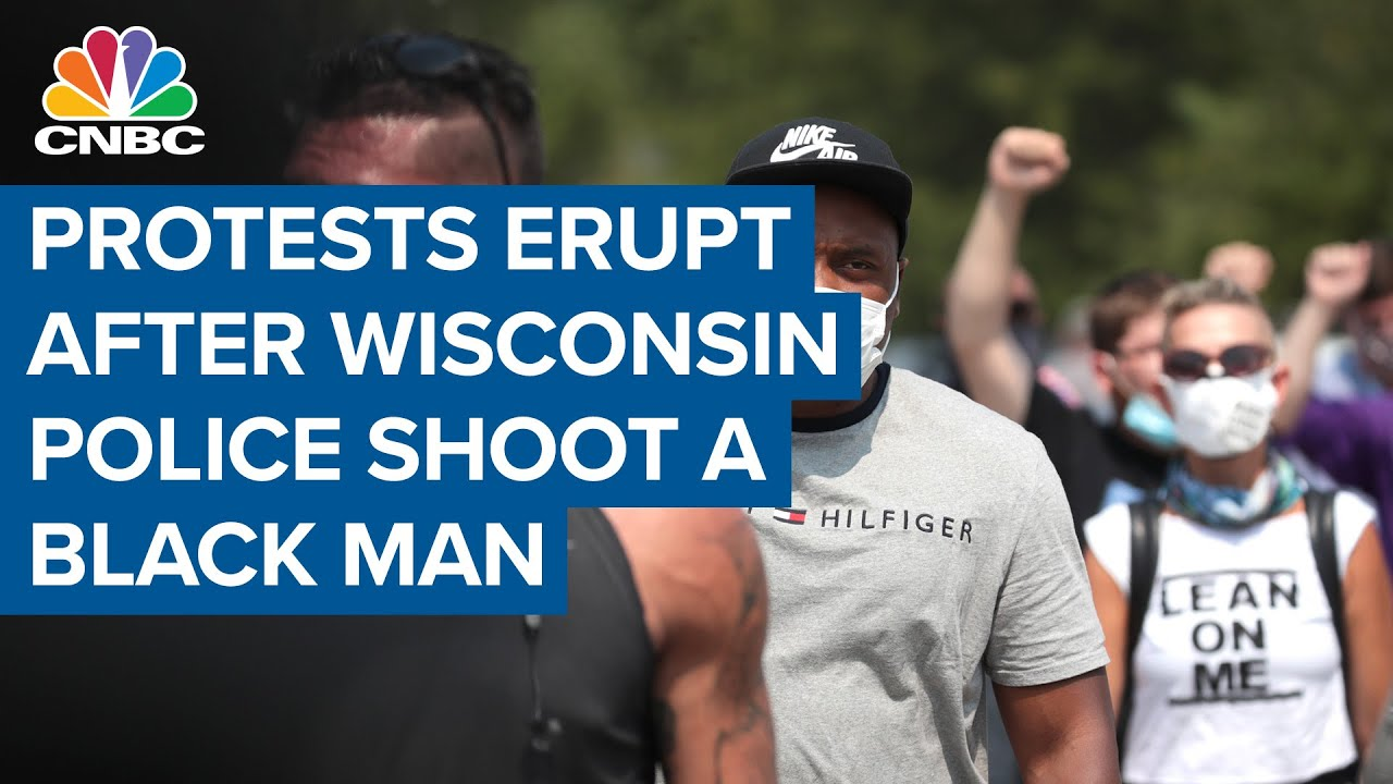 Protests erupt after police shoot a Black man in Kenosha, Wisconsin—Here's what happened