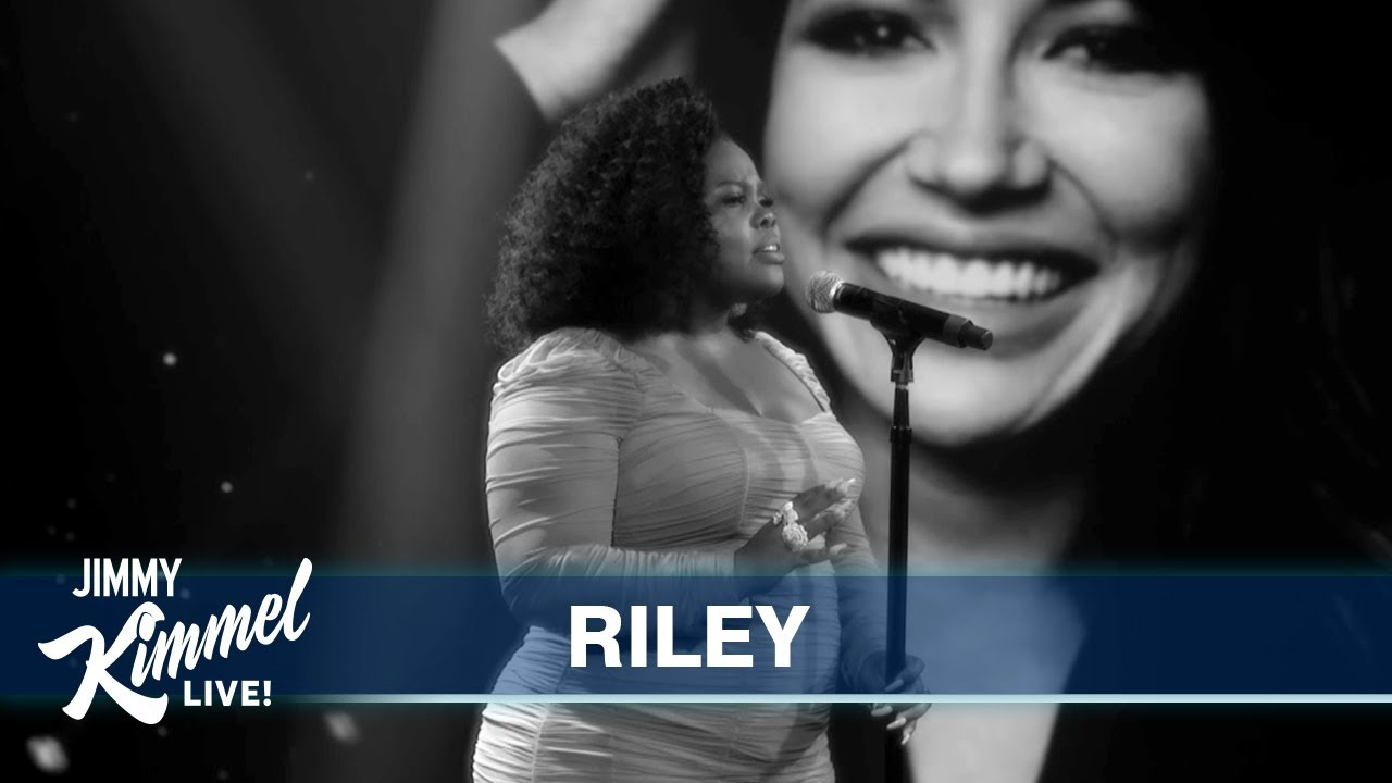 Riley Performs Naya Rivera Tribute