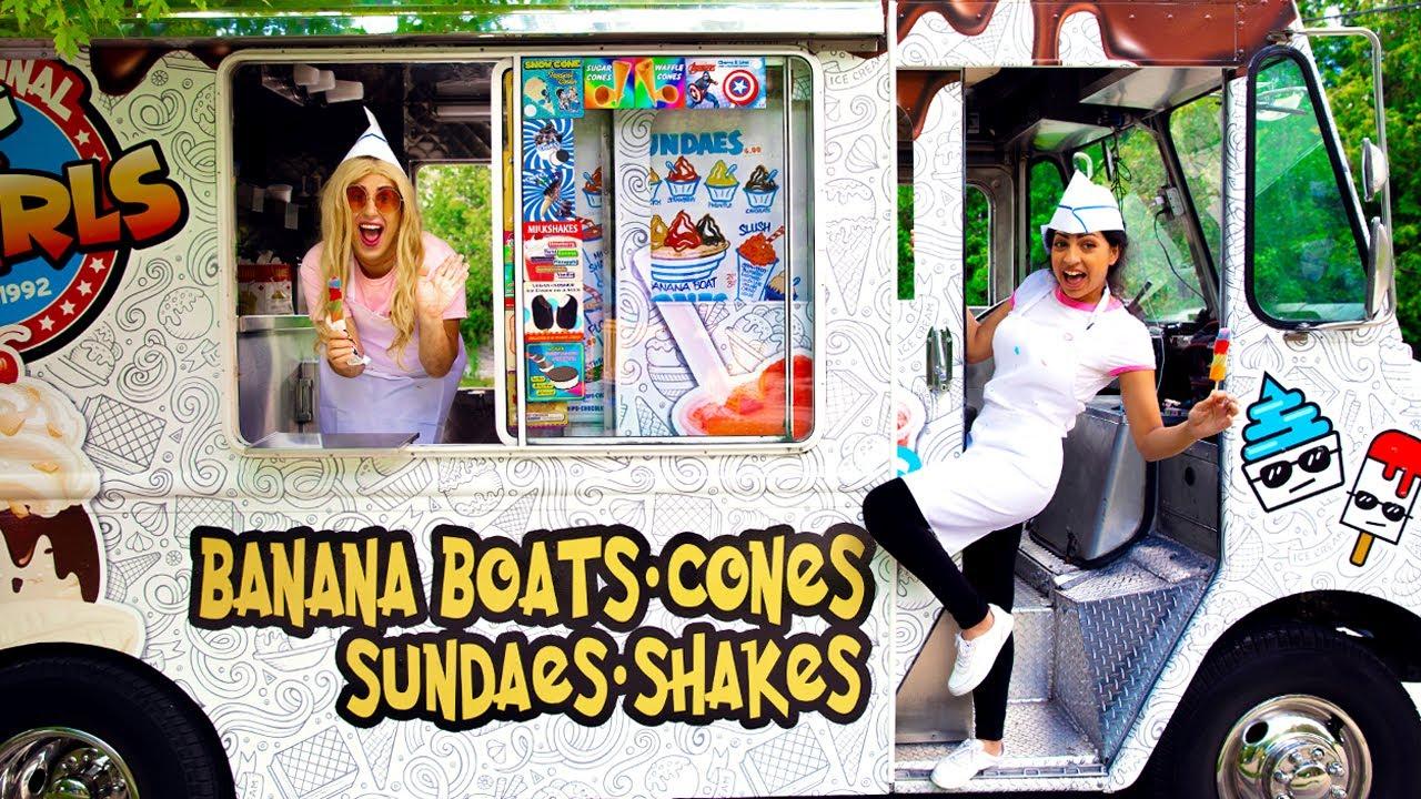 SUMMER JOB! *Me And My Best Friend Got An Ice Cream Truck*