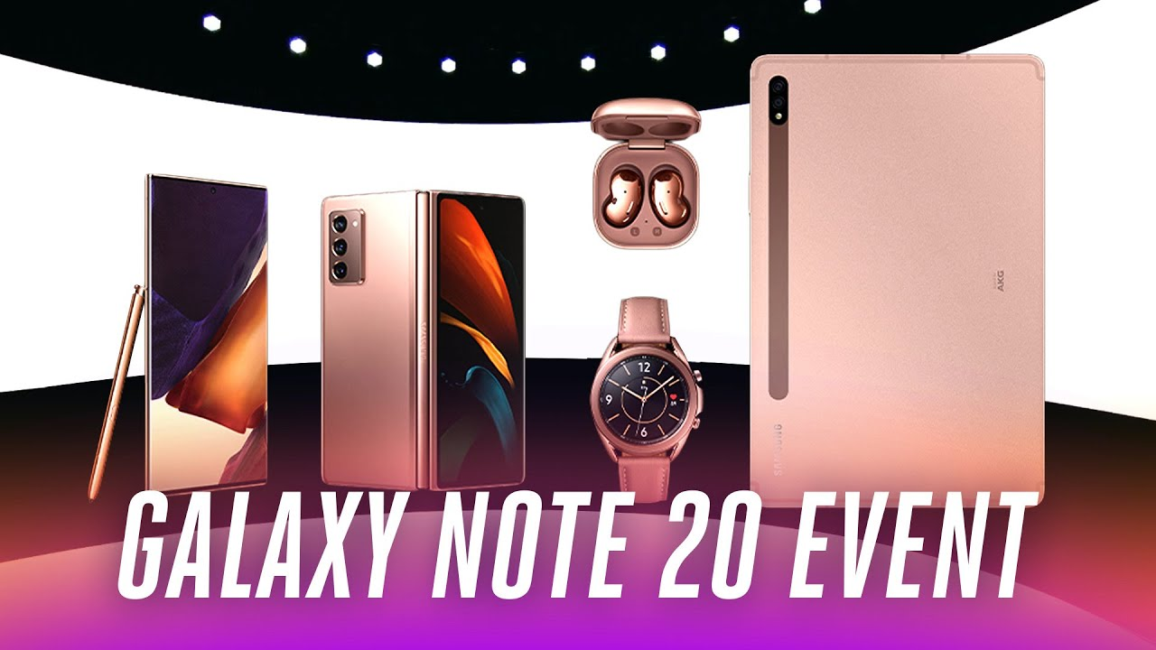 Samsung Galaxy Note 20 event in under 9 minutes